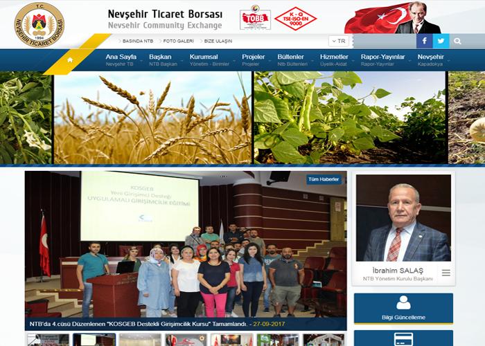 Nevşehir Ticaret Borsası (Panel Entegre)